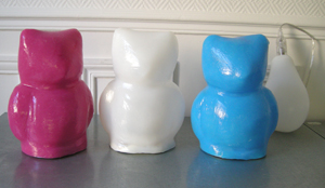 Lampes Ours silicone - Allumées - Decoclico