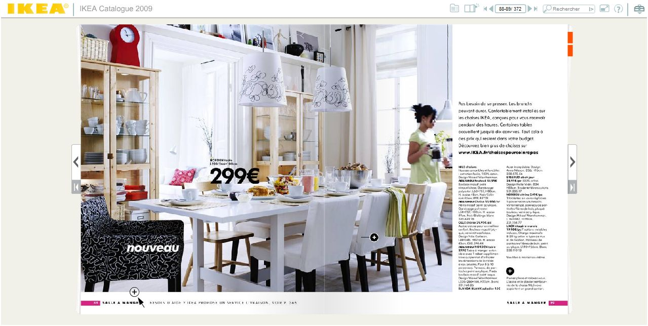 Catalogues d co ikea boconcept fly en route pour 2009 mademoiselle d - Ikea catalogue en ligne ...
