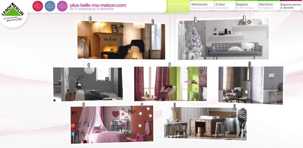 nouveau site de leroy merlin pour une maison plus belle mademoiselle d co blog d co. Black Bedroom Furniture Sets. Home Design Ideas