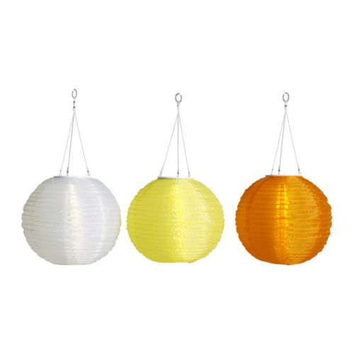 lampions solaires Solig Ikea