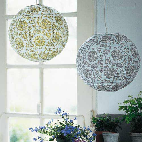 lustre boule papier couleur interesting suspension fer dcm blanc fly couleurs with lustre boule. Black Bedroom Furniture Sets. Home Design Ideas
