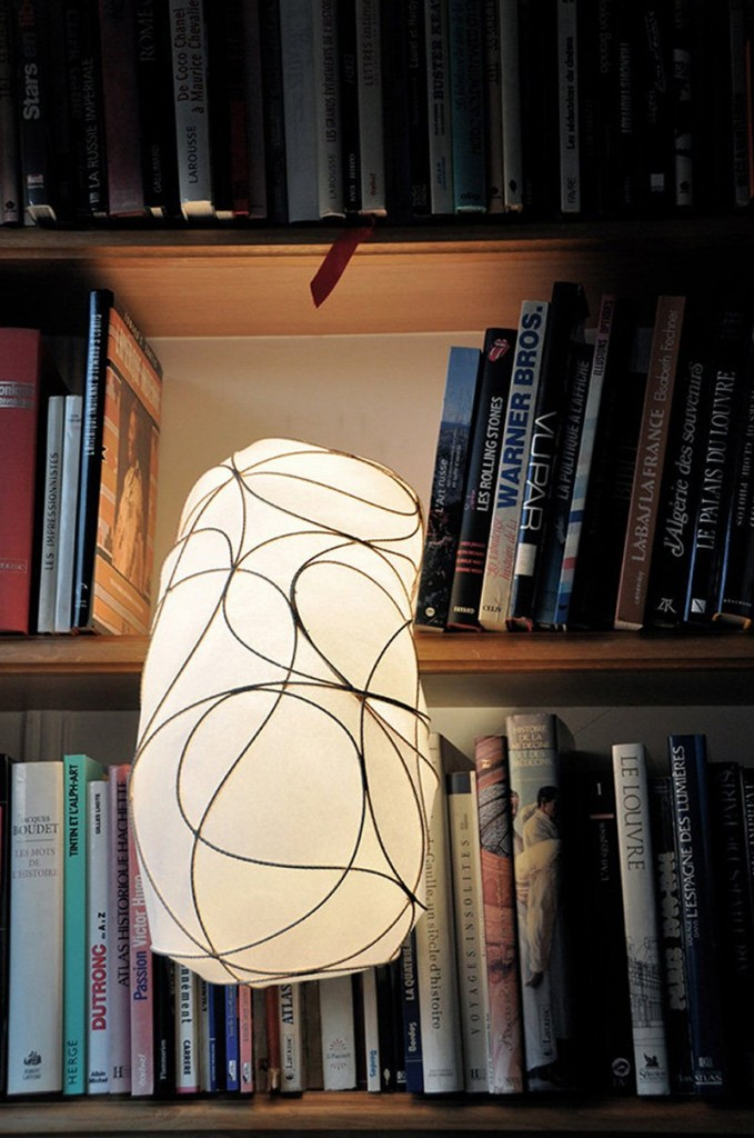 Lampe L design Anna Leymergie - lampe d'angle
