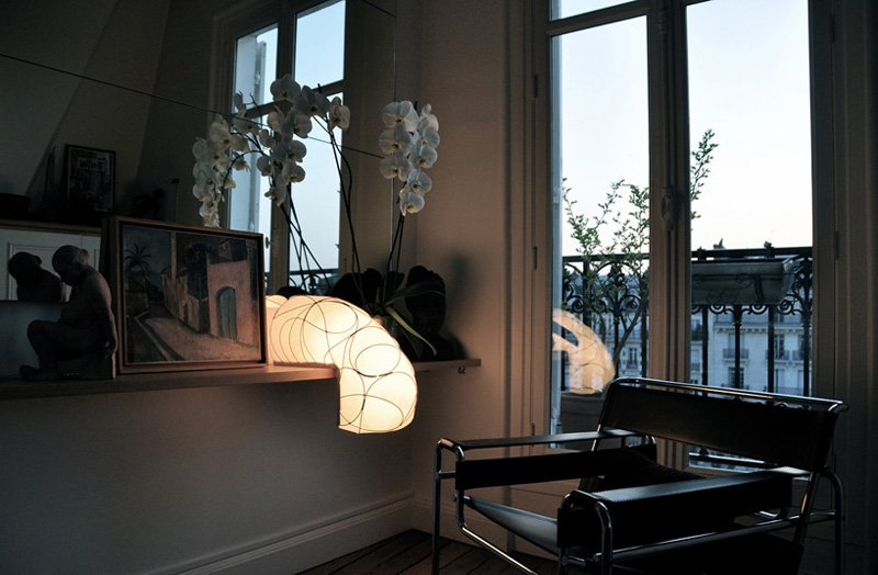 Lampe L design Anna Leymergie - luminaire d'angle