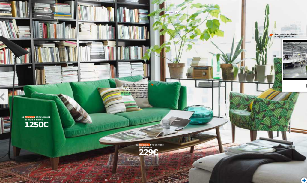 Catalogue Ikea - Collection Stockholm