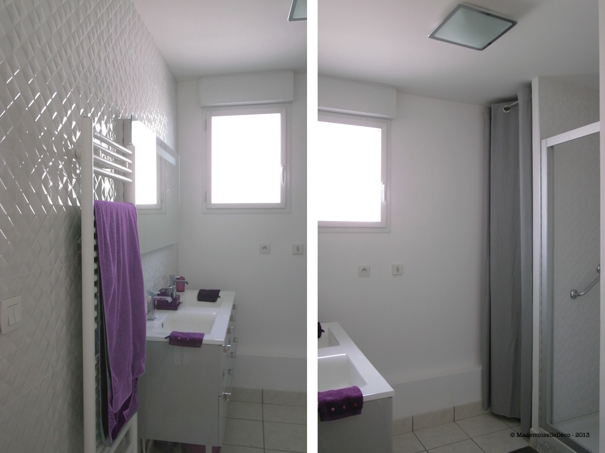 Am nagement int rieur archives mademoiselle d co blog d co for Faire une salle de bain dans 4m2