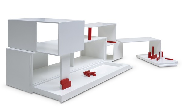 Modular House jeu de construction design