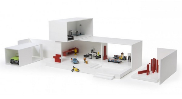 Maison contemporaine design pour Playmobil