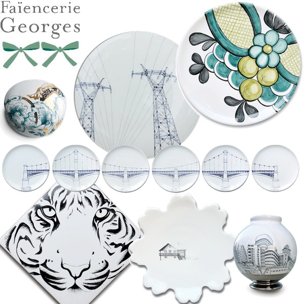 Faiencerie Georges - Collection de faience d'art