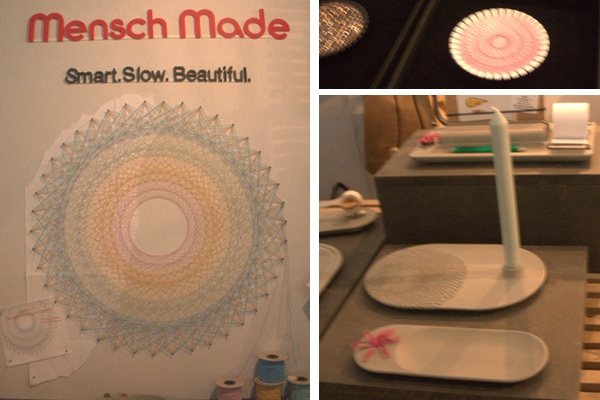 Mensch Made string art design