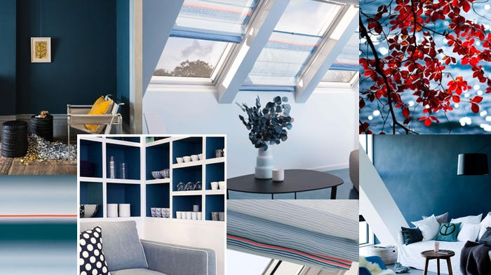 Velux Store Colour Collection by Scholten&Baijings - Palette bleu
