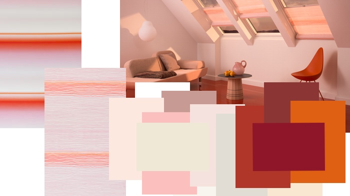 Velux Store Colour Collection by Scholten&Baijings - Palette rouge
